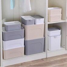 Creative Clothes Storage Boxes Thicken Plastic Practical Moistureproof Toys Books Organizer Multifunction Wardrobe Underwear Box