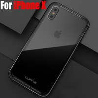Case For IPhone X Luxury Original Luphie Aluminum Metal Frame 9H Glass Back Cover For IPhoneX