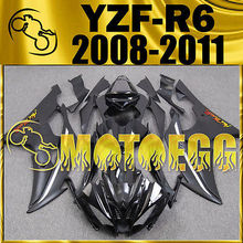 Motoegg Injection Fairings For YZF-R6 YZF R6 2008-2011 Plastic Black M59 + Tank   Motorcycle plastic