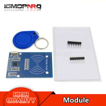 1set MFRC-522 RC522 mfrc 522 RFID RF IC card inductive module with free S50 Fudan card key chain