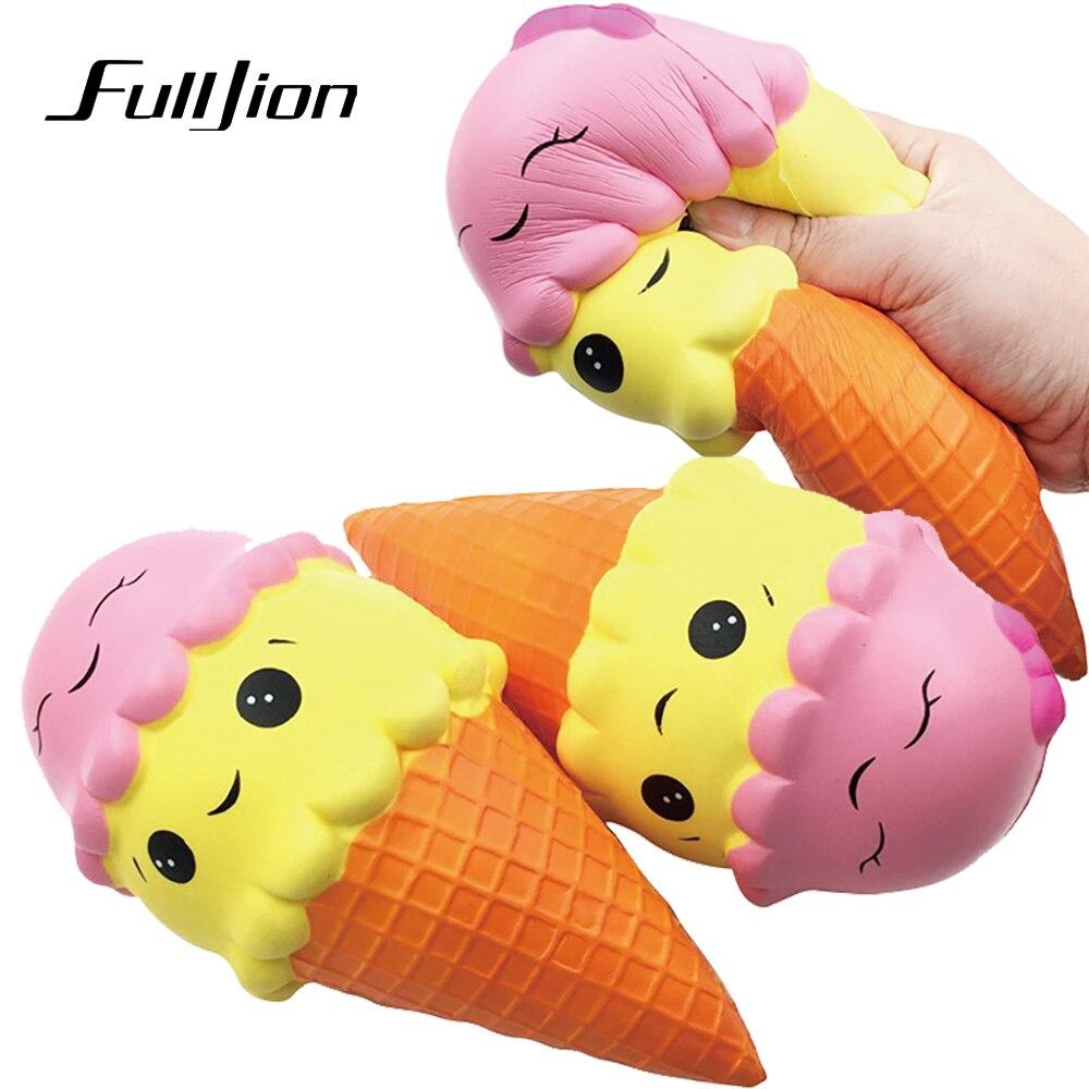 №Fulljion Squishy Antistress Squishes Slow Rising Ice Cream Squisy