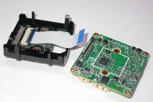 "Image 4 - F0.95 LENs intelligent analisys H.265 1/2.8"" STARVIS IMX291 CMOS + Hi3516C V300 IP CCTV camera PCB board module +LAN cable"