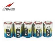 5pcs/lot WAMA 11A 6V Primary Dry Batteries L1016 Alkaline Car Key Remote Battery Drop Ship