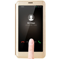 New Top Quality 4 Colors For Huawei Mate 9 Smart Cover Intelligent Sleep Flip Phone Case