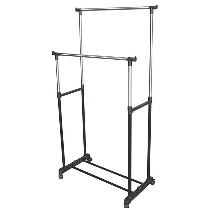 Stainless steel Simple coat rack storage hanger Multi functional Floor standing Home Furniture indoor and outdoor drying rack
