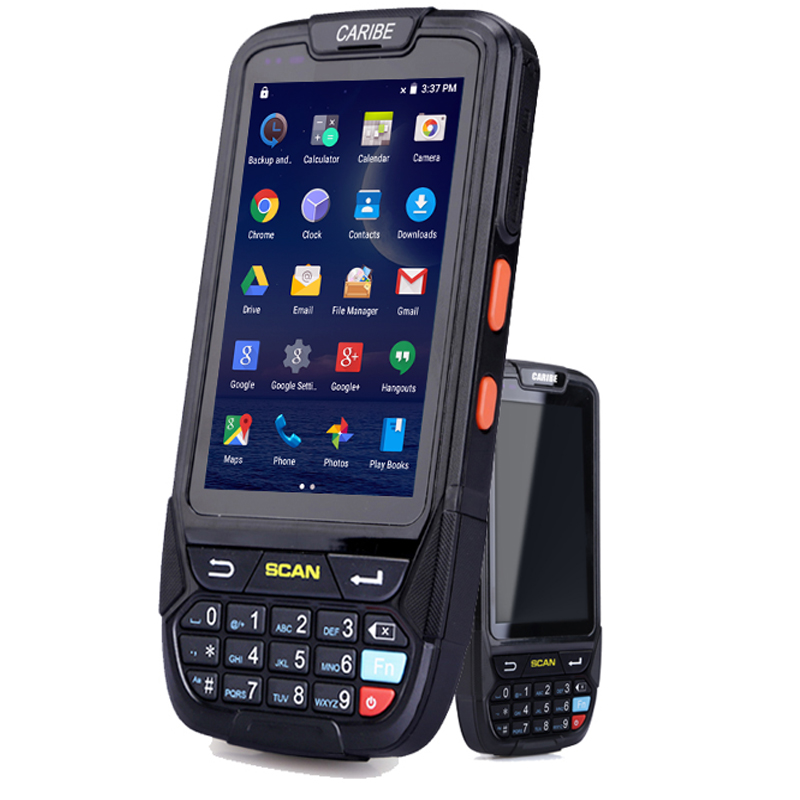 Caribe PL-40L industrial inventory management android pda android wireless with 1d barcode scanner and 4G title=