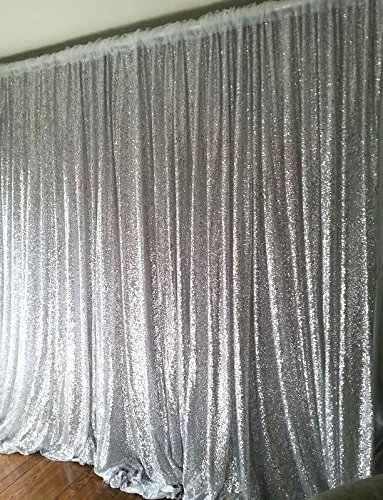 20ftx10ft цвет серебристый, Золотой блесток фото фон, Свадебные Photo Booth, фотографии Задний план для вечеринки/банкета/открытый украшения