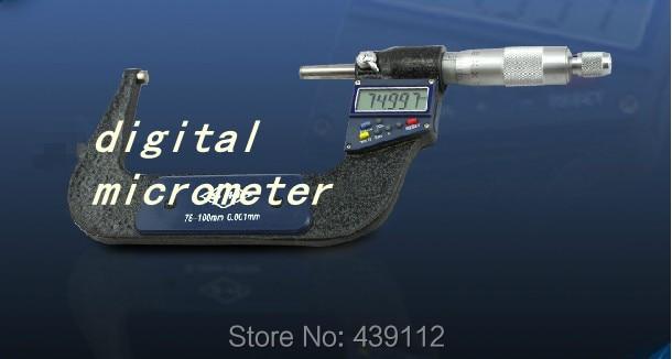 3-4 / 75-100mm Electronic Digital Micrometer--special low price clearance--new ботинки для мальчика reima черные