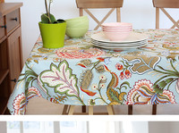 Multi size Chinese style Cotton Table Cloth PAS Tablecloths Table Cover decoration customized Coffee table cloths gift