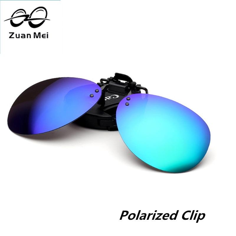 Zuan Mei Brand Polarized Clip On Sunglassess