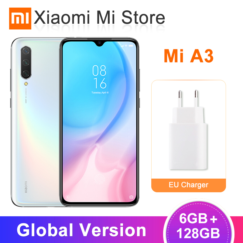 "Global Version Xiaomi Mi CC9e 6GB 128GB Mobile Phone 6.088"" Snapdragon 665 CPU 48MP AI Triple Cameras 4030mAh Android One(China)"