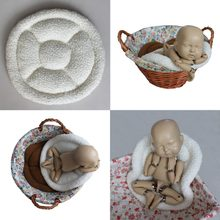 Baby Photo Prop Newborn Photoshoot Blanket Bucket Basket Stuffer Filler Baby Posing Cusion Newborn Photography Props Accessories(China)