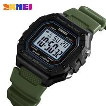 SKMEI Outdoor Sports Watch Men Watches 5Bar Waterproof Alarm Chrono Week Military Fashion Digital Relogio Masculino 1496