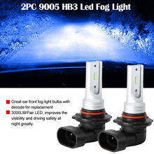 9005 HB3 Led Fog Light Bulb High Power CSP-Y11 Cool Blue 8000K (Pack of 2) #7(China)