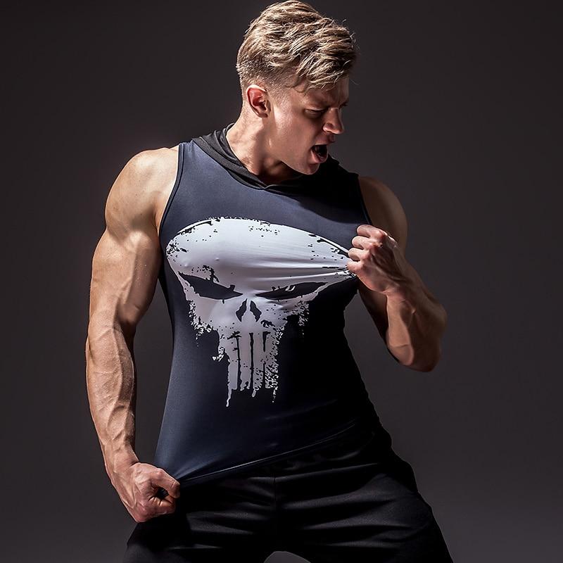 Men's Superhero 3D Printed Tank Top 3
