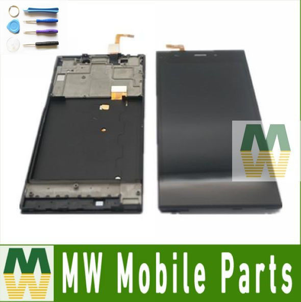 1PCS/Lot  Black Color For Xiaomi 3 Mi3 TDCDMA Or WCDMA LCD Display+Touch Screen Digitizer +Frame With Tools