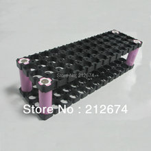 Free Shipping 18650 battery holder 13*4 52 holes for 48v 10ah li ion battery pack Flameresistant material Safety anti vibration