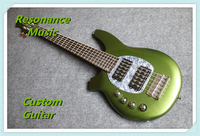 Prawdziwe pitures 6 string music man bongo leworęczny electric bass guitars klienta dostępny
