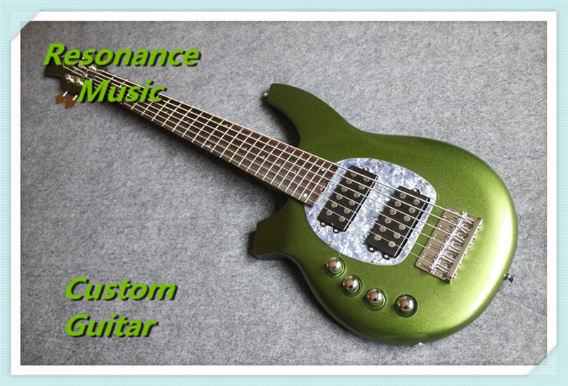 Real Pitures 6 String Left Handed Music Man Bongo Electric Bass Guitars Custom Available стоимость