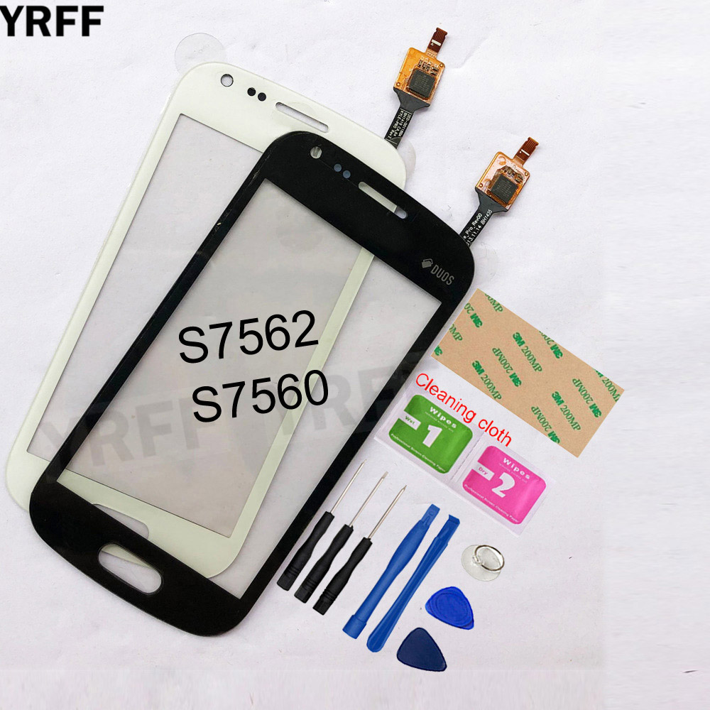 4.0'' For Samsung Galaxy Trend Duos S7562 S7560 Touch Screen Digitizer Sensor Touch Glass Lens Panel