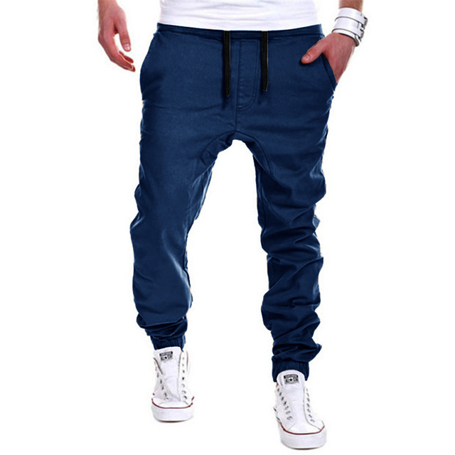 Mens Joggers Male Trousers Men Pants Mallas Hombre Elastic Cross Pants Sweatpants Jogger khaki Pantalones XXXL