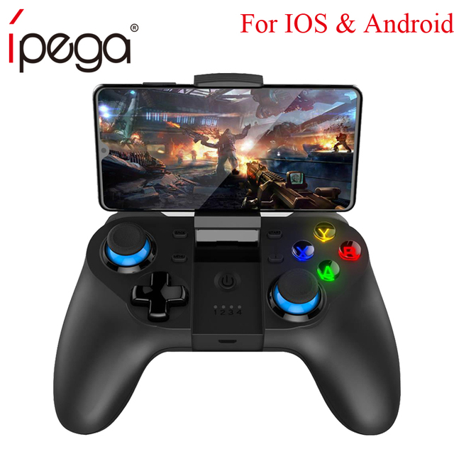 US $21 99 |Ipega PG 9129 for ios android Wireless Gamepad bluetooth pubg  Game Controller Joystick joycon controller vs 9076 for Nintendo-in Gamepads