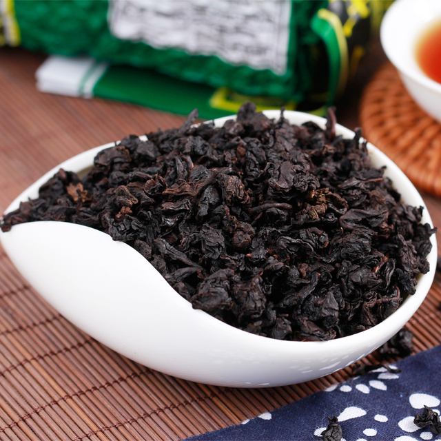 Black Oolong Tieguanyin Tea Roasted Tea Green Food Lose Weight Tea Whitening Slimming Beauty Organic Black Oolong Tieguanyin