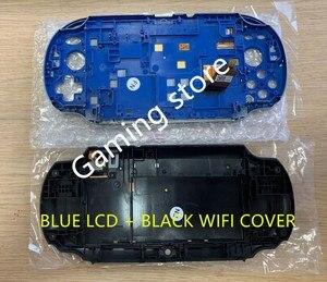 Image 3 - Originele nieuwe voor psvita voor ps vita psv 1000 lcd scherm gemonteerd blauw + achterkant zwart WIFI of 3G versie