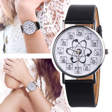 Fashion New 1pc OKTIME Chemistry Watch with Chemical Elements Letter watches For Ladies Women Quartz Watch Montres