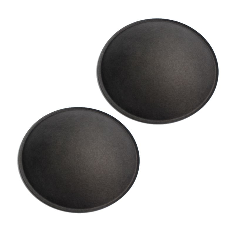 Image 2 - 2PCS 130MM/150MM Grey Black Audio Speaker Dust Cap Hard Paper Dust Cover for Subwoofer Woofer Repair Accessories Parts-in Speaker Accessories from Consumer Electronics