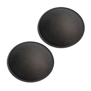 Image 2 - Caixa de som cinza preta para áudio, 2 peças, 130mm/150mm, tampa de papel rígido para proteger poeira, subwoofer woofer acessórios de reparo de peças