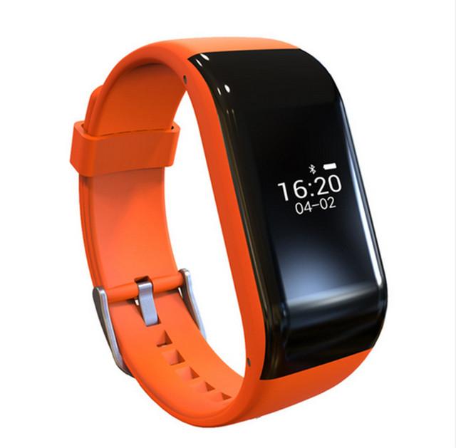 2017 Senbono R1 Bluetooth Inteligente Pulseira Pulseira Banda Rastreador De Fitness Monitor de Freqüência Cardíaca À Prova D' Água Inteligente para Android IOS T0