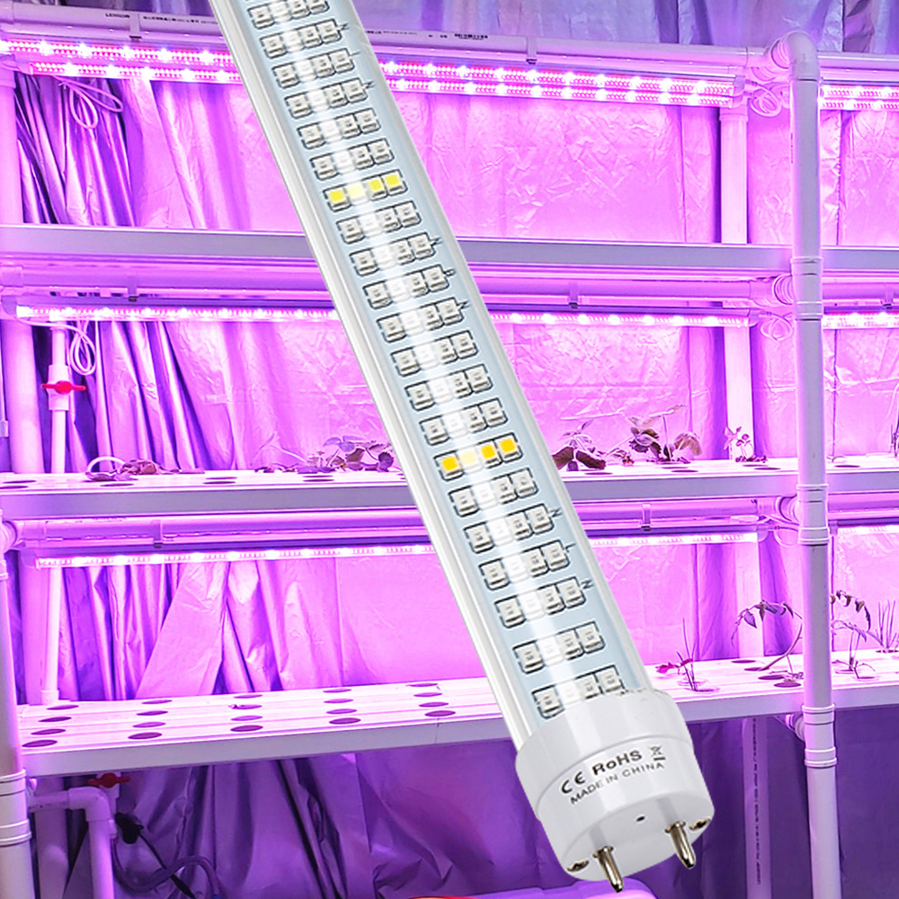 Full Spectrum LED Grow Light Bar 1.2M 60W 600LEDs AC85~265V For Hydroponics Veg Seed Growth Flowering LED Plant Bars 25pcs/Lot