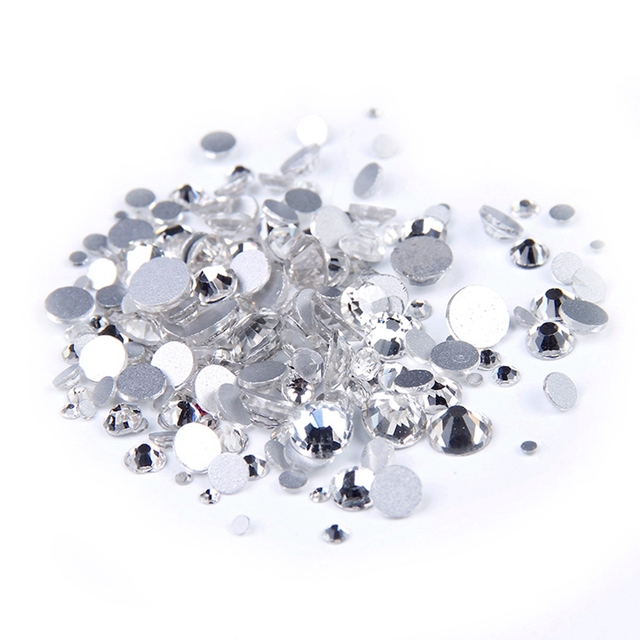 ss2-ss50 And Mixed Crystal Rhinestones Nail Art Stones 2016 New Strass  Glass Non Hotfix cb697a2af0f3
