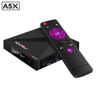 A5X Max Plus Smart Android 7 1 TV Box RK3328 4K VP9 H 265 HDR10 1000M