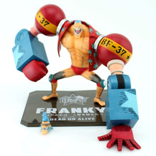 18CM One Piece Zero Franky Two Years Later New World PVC Action Figure Collectible Model Toy Japan Anime Doll