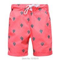 Качество 100% тканый хлопок новый 2018 Одежда для малышей детская одежда для малышей Пляжные шорты летние штаны для повседневной носки для мале...