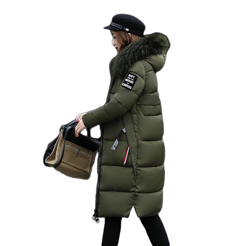 ba914654f5084 Quality 2018 Winter Women Long Warm Coat Faux Fur Hoodies Parkas Woman  Wadded Down Jackets Cotton Clothing Plus Size M~3XL