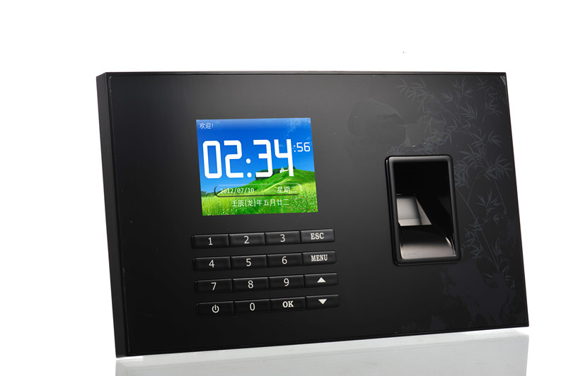 Realand A-C051 Fingerprint Time Attendance System With TCP/IP USB Network Attendance facial fingerprint employee time attendance zk uf100 tcp ip face time attendance system with free software in stock fast deliver
