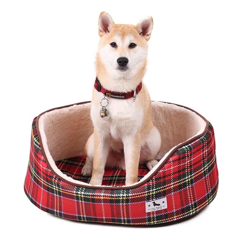 Heißer Verkauf Mode haustiere Bett für welpen Sehr Weich hund betten geeignet für alle größe haustier haus bett matte katze sofa liefert