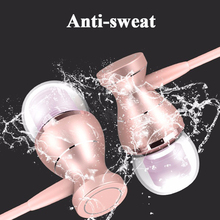 In-Ear Earbuds Clarity Stereo Headphone With Mic Headset Metal Magnetic Sport Running Bass Sound Earphone For Mobile Phone MP3 4 newest 3 5mm in ear super bass clear voice earphone headset for mobile phone computer mp3 universal earphone amazing sound