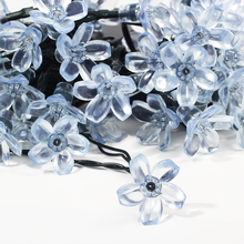 Waterproof Sakura Flower Shaped Solar LED Light String