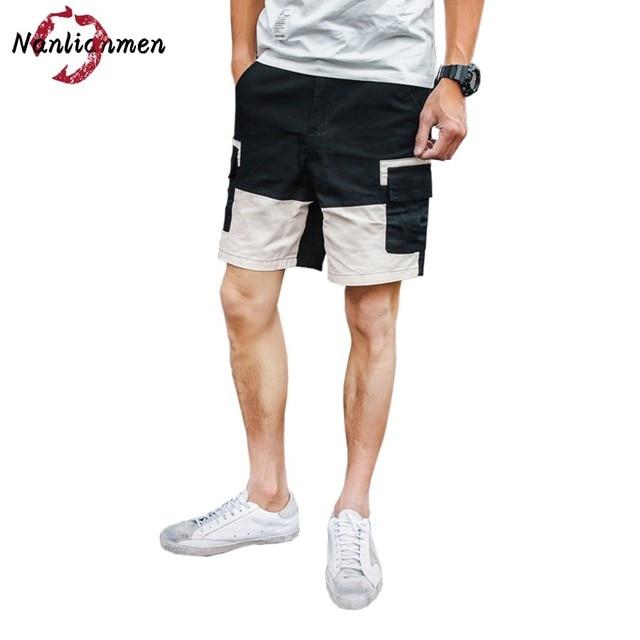 homme Cargo Short masculina homme short casual bermuda Men bermuda hombre Patchwork Shorts 2017 Cargo cargo Men pantalon corto wUFA0qP