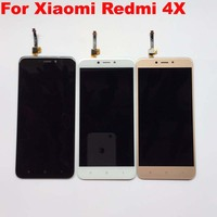GRF WENO Brand LCD Display Screen Touch Panel Digitizer For 5 0 Xiaomi Redmi 4X White