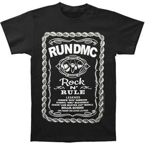 f1fe84b5 Run Men's Rock Whiskey T-shirt Small Black Funny T shirt