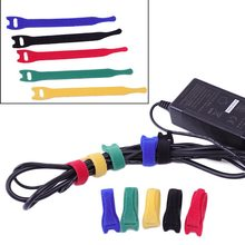 2d29978fc78e 50Pcs Strong& Reusable Cable Straps Ties One Wrap Thin Ties Perfect For  Fastening Wires & Organizing Cords Multicolor Cable Ties