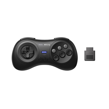 8BitDo M30 2.4G Wireless Gamepad for the Original Sega Genesis and Sega Mega Drive - Sega Genesis 10pcs for sega mega drive 112 in 1 game card cartridge 16 bit md game card for sega genesis freeshipping