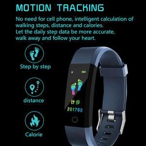 Image 5 - Nova pulseira inteligente smartwatch, pulseira inteligente, monitor de freqüência cardíaca e pressão arterial, monitor de fitness, pedômetro, pulseira para android, xiaomi, huawei, telefone ios