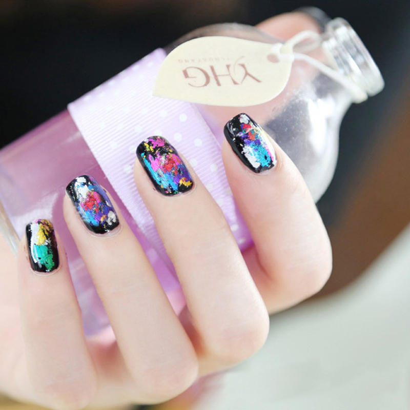 New Arrival 1 Sheet Shimmer Holographic Starry Sky Nail Foil Fashion