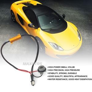 2x Auto LED Schalten Singal Lastwiderstand 1156 BA15S 1157 BAY15D 7440 7443 3156 3157 50 Watt Canbus Fehler Kostenlose Wiring Canceller Decoder